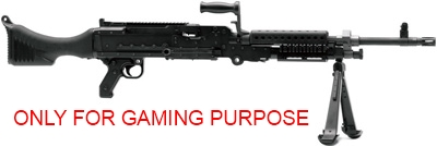 MW2 – Primary Weapons – Light Machine Guns / Riot Shield